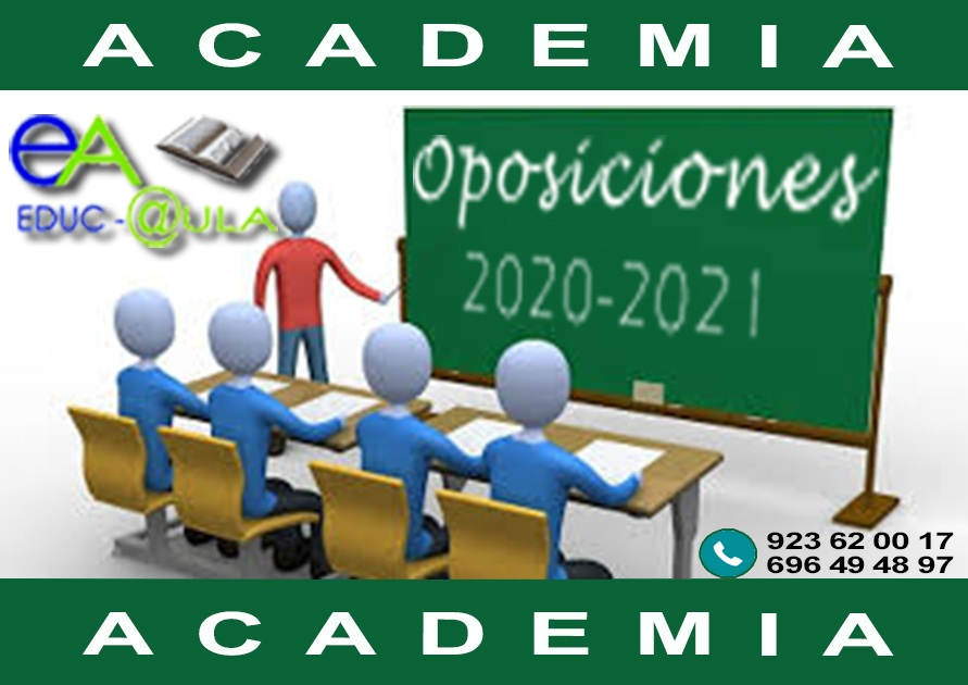 Academia oposiciones secundaria 2021 2023 primaria
