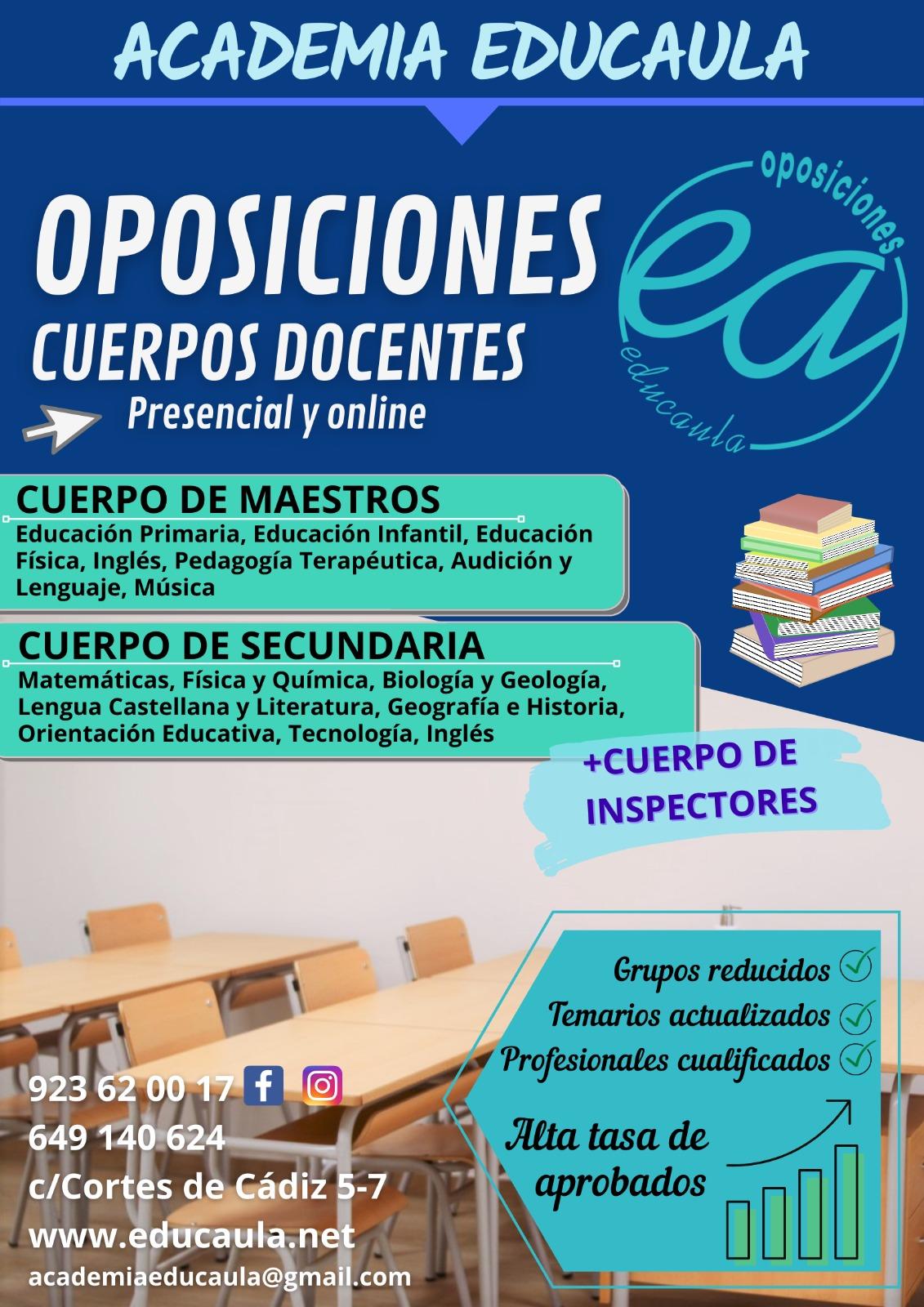 Edcuala prepara oposiciones docentes